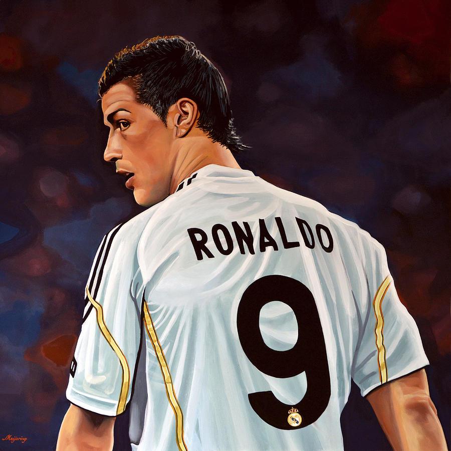 Real Madrid Painting - Cristiano Ronaldo by Paul Meijering