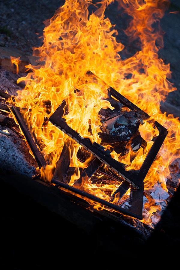 Fire Photograph - Critique by Aaron Aldrich