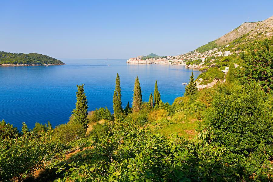 Dubrovnik Photograph - Croatian Coast by Alexey Stiop