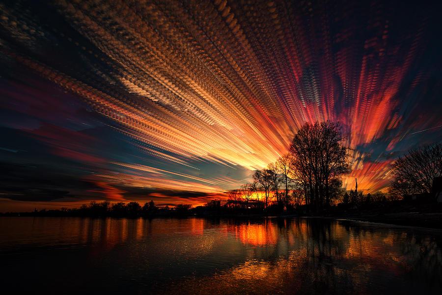 Matt Molloy Photograph - Crocheting The Clouds by Matt Molloy