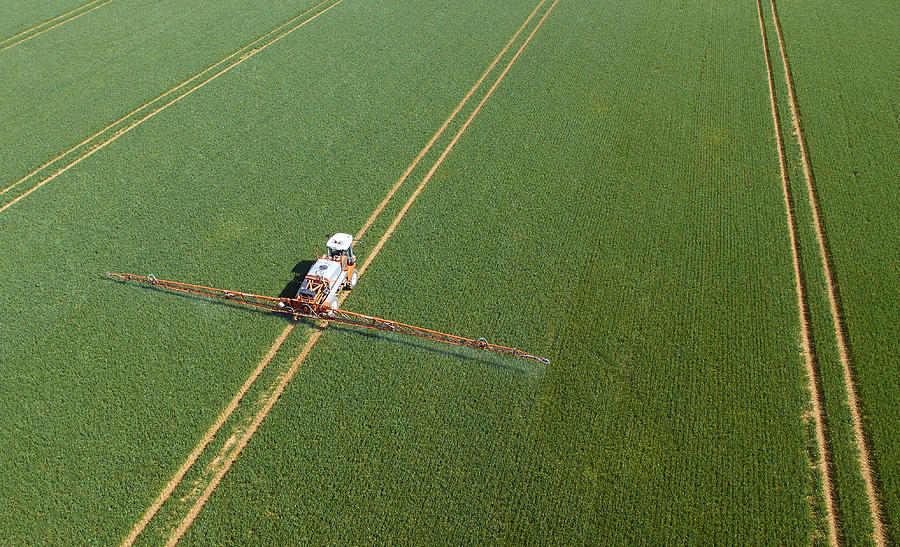 Crop Sprayer Photograph by The Creative Drone