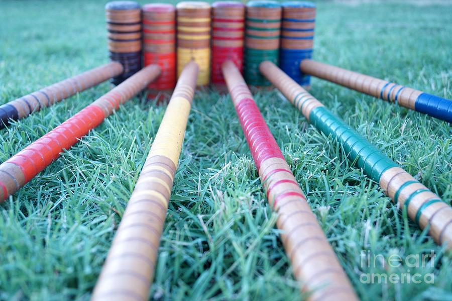 Croquet Anyone by Kerri Mortenson