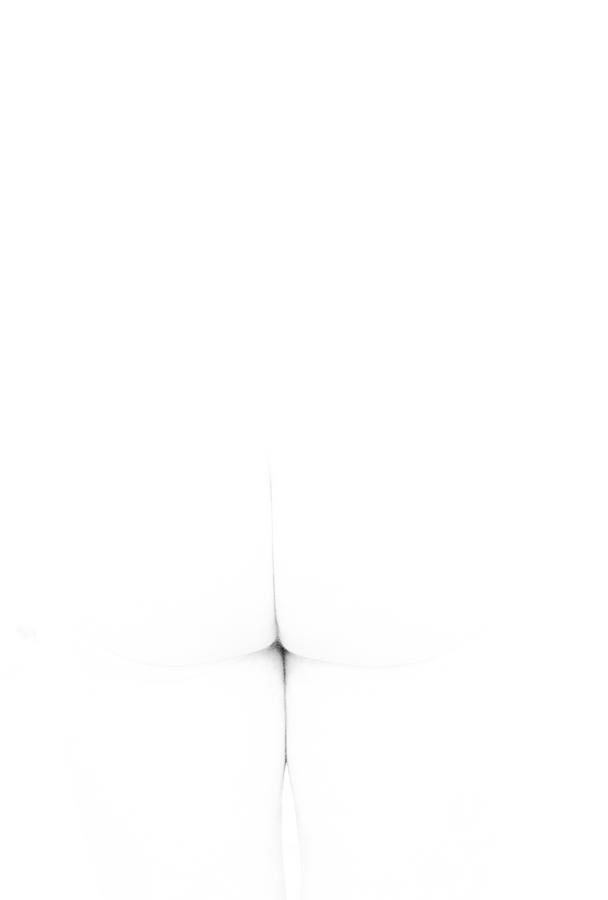 Nude Photograph - Cross by Catherine Lau