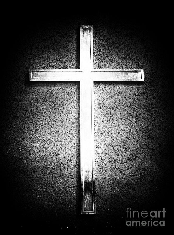 Cross Photograph - Cross by John Rizzuto