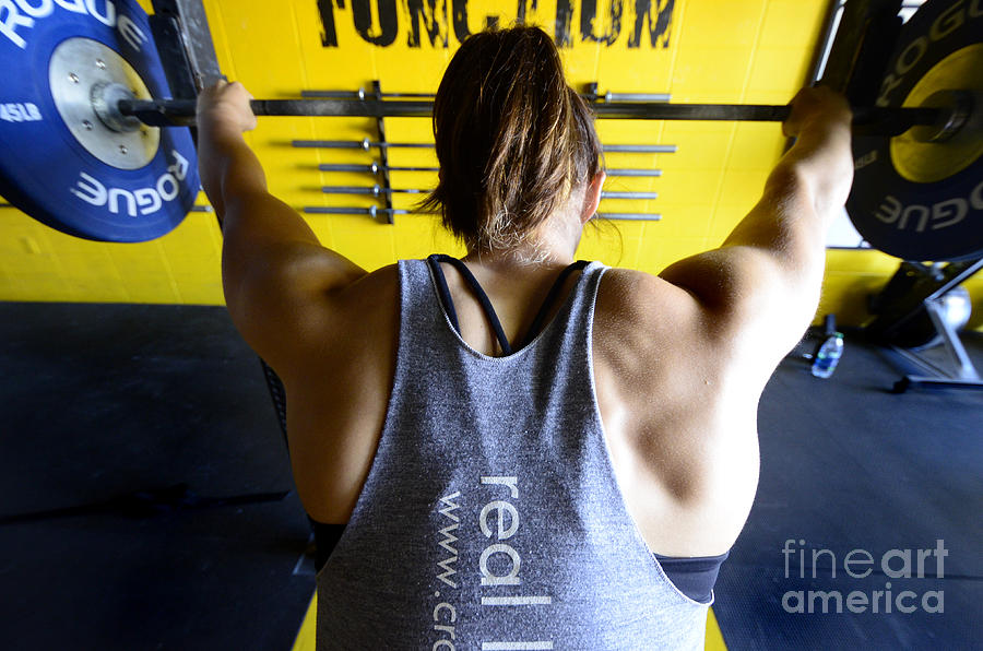 Crossfit Photograph - Crossfit 3 by Bob Christopher