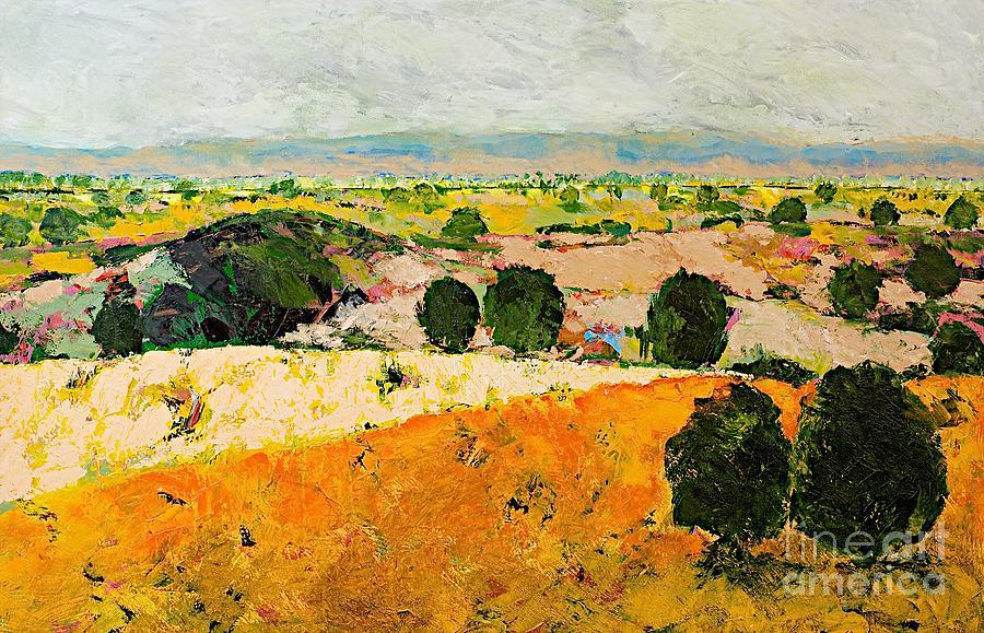Landscape Painting - Crossing Paradise by Allan P Friedlander