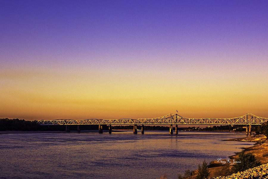 Mississippi River Photograph - Crossing The Mississippi by Barry Jones