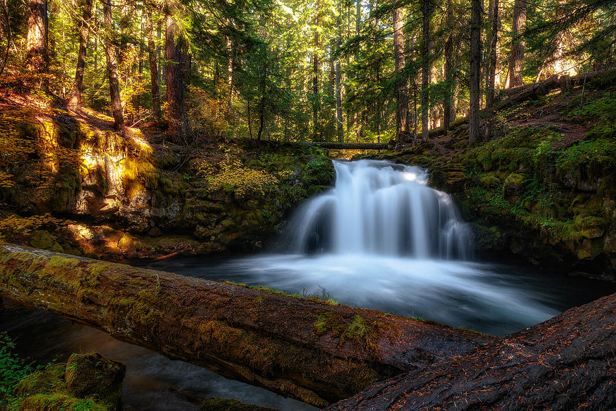 Water Falls Photograph - Crossings by James Heckt