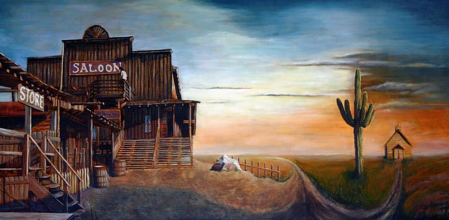 Realistic Painting - CrossRoad by Maxx Phoenixx