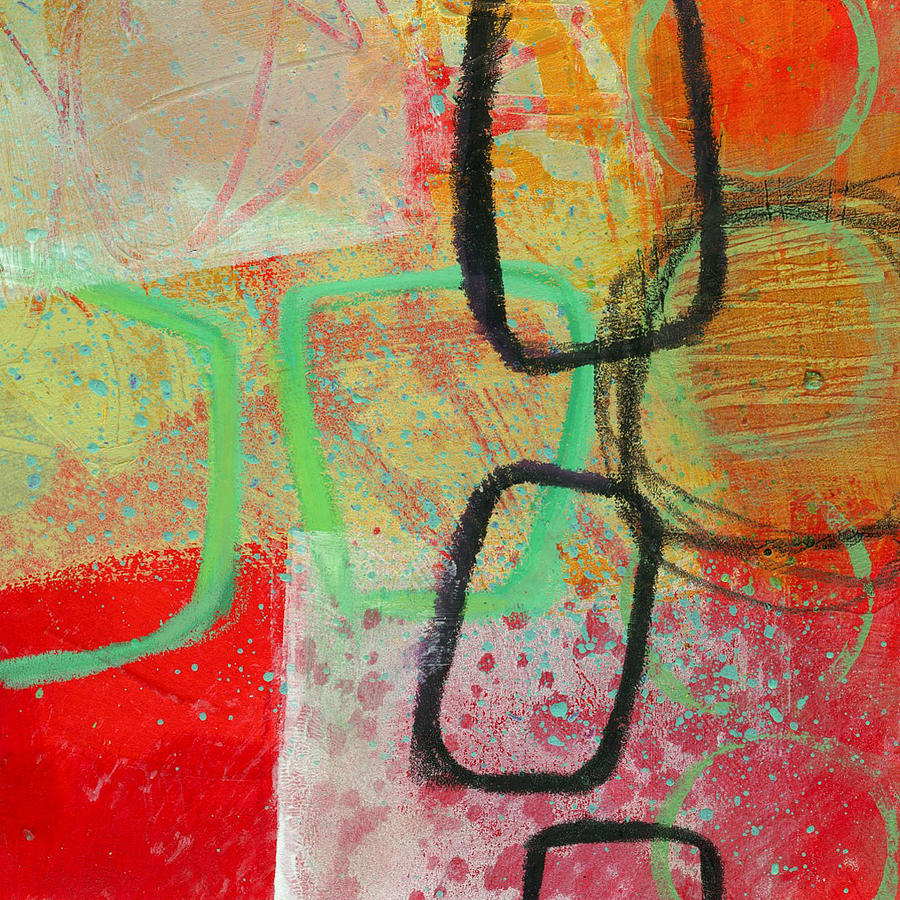 Jane Davies Painting - Crossroads 29 by Jane Davies
