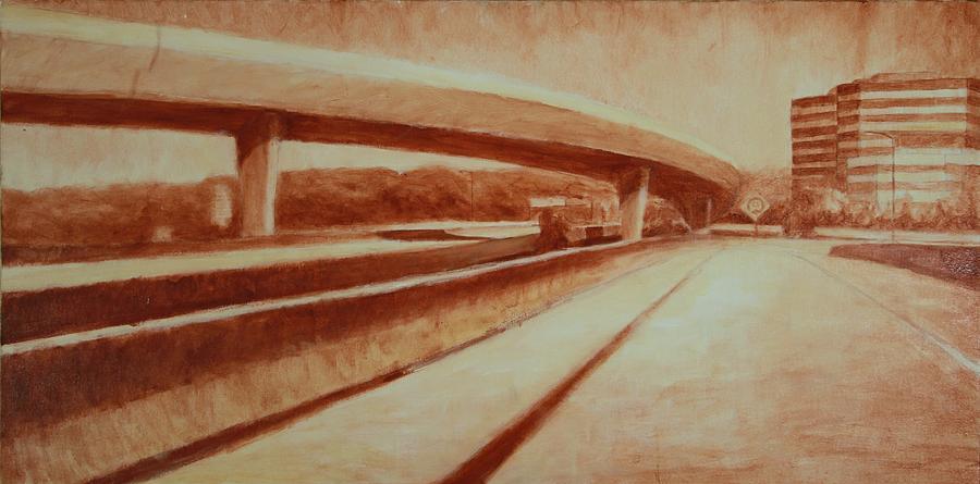Landscape Painting - Crossroads by Jeff Levitch