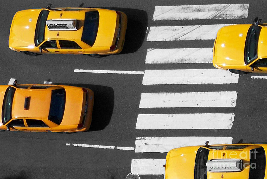Street Photograph - Crosswalk by Dan Holm