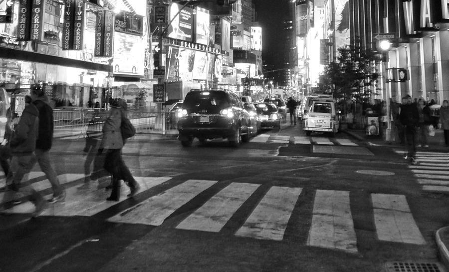 Crosswalk Photograph - Crosswalk by Dan Sproul