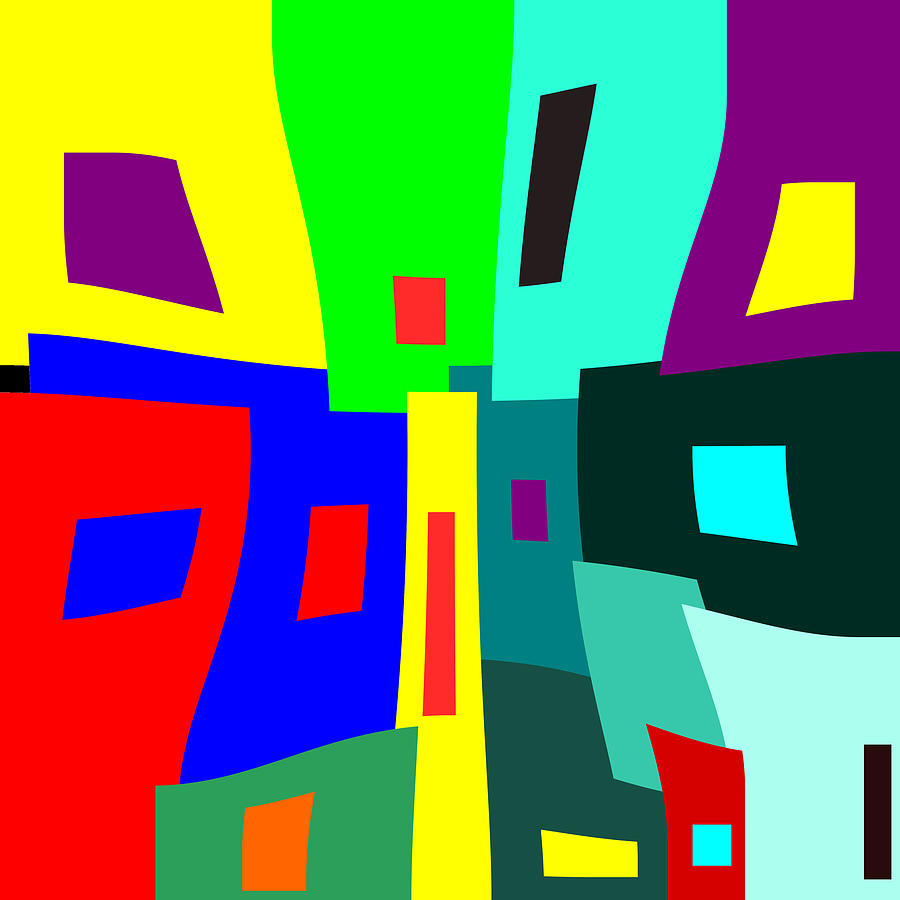 Windows Digital Art - Crowded At The Bottom by Mary Bedy