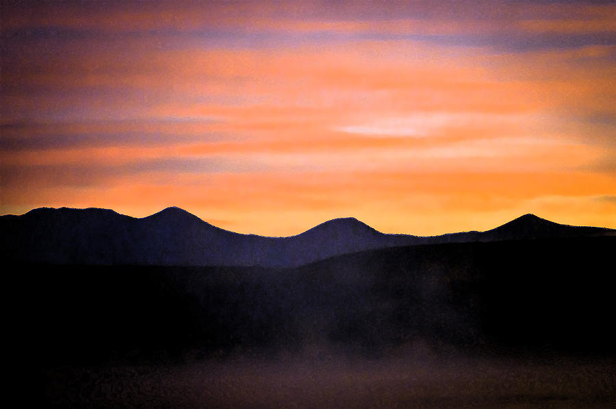 Crowley Lake Photograph - Crowley Lake Sunrise by Sherri Meyer