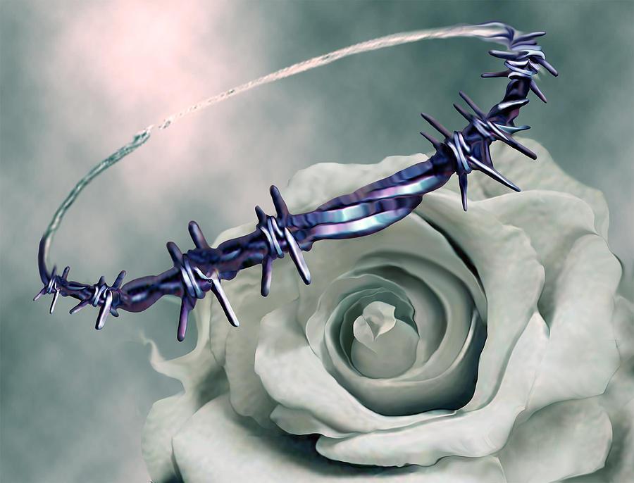 Crowned Digital Art - Crowned by Jennifer Kathleen Phillips