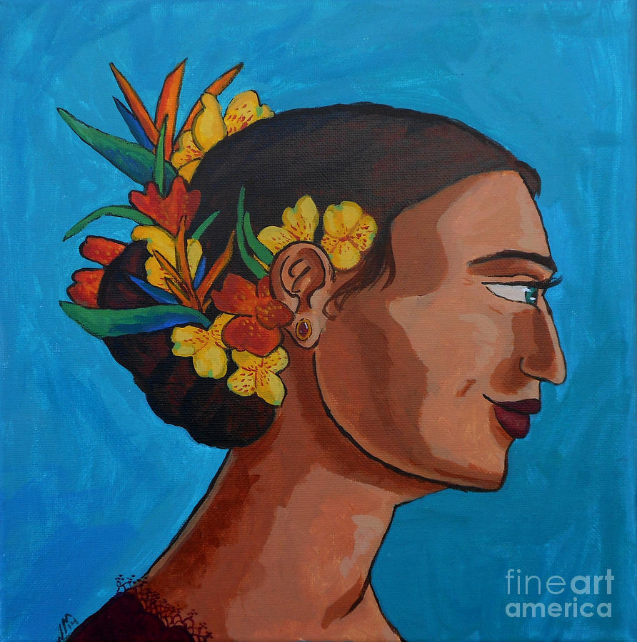 Crowned With Flowers by Whitney Morton