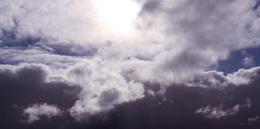 Swirling Clouds Photograph - Crucible by Amanda Holmes Tzafrir