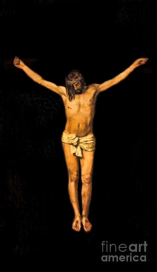 Saint Mary Photograph - Crucifixion Of Jesus Christ by Lee Dos Santos