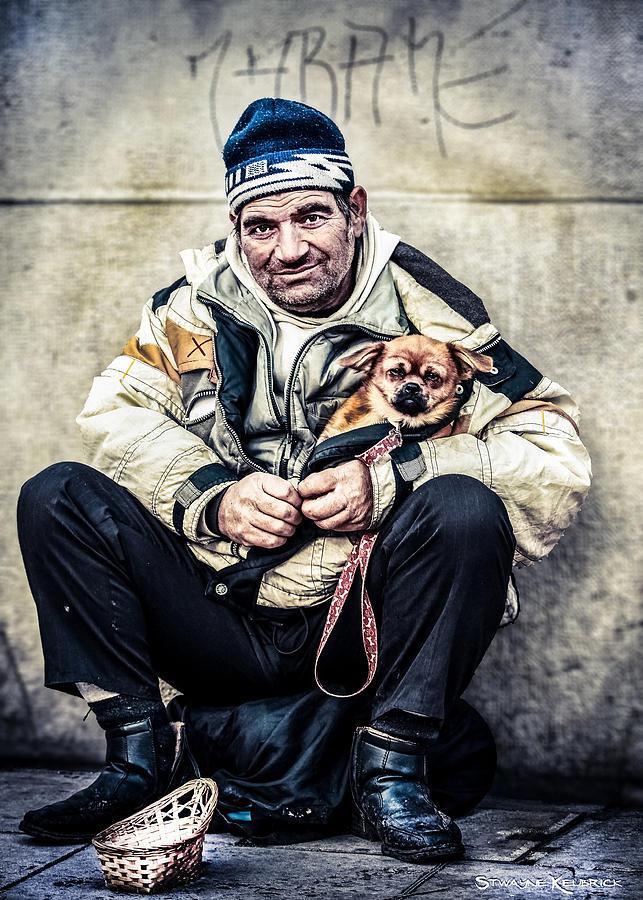 Slice Of Life Photograph - Cruel Street Life by Stwayne Keubrick