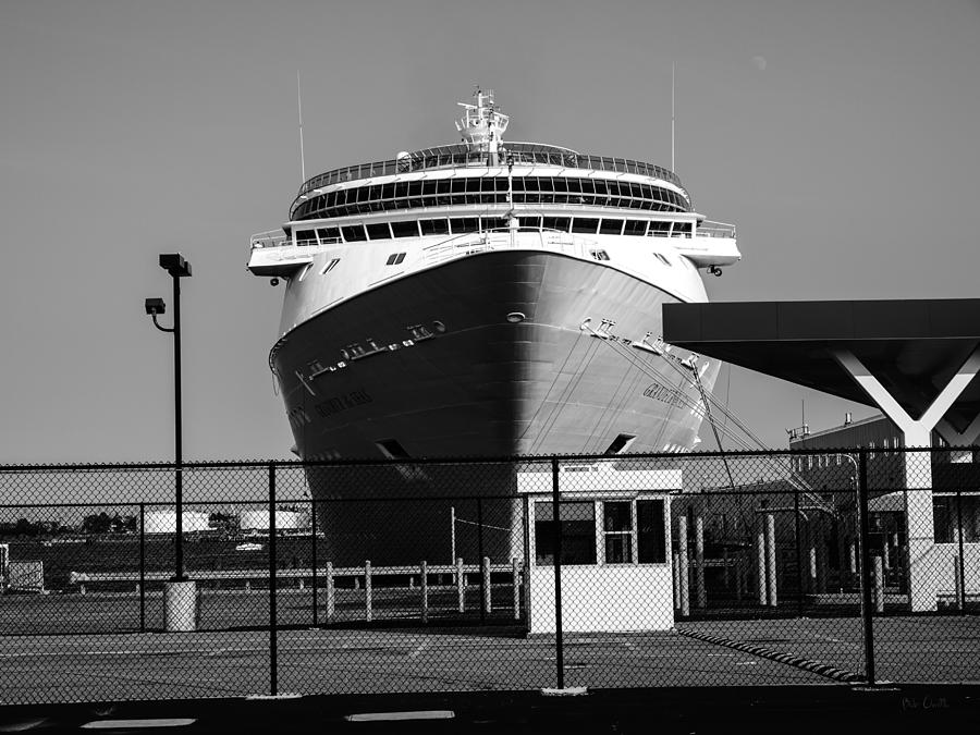 Ship Photograph - Cruise Ship Still Life by Bob Orsillo