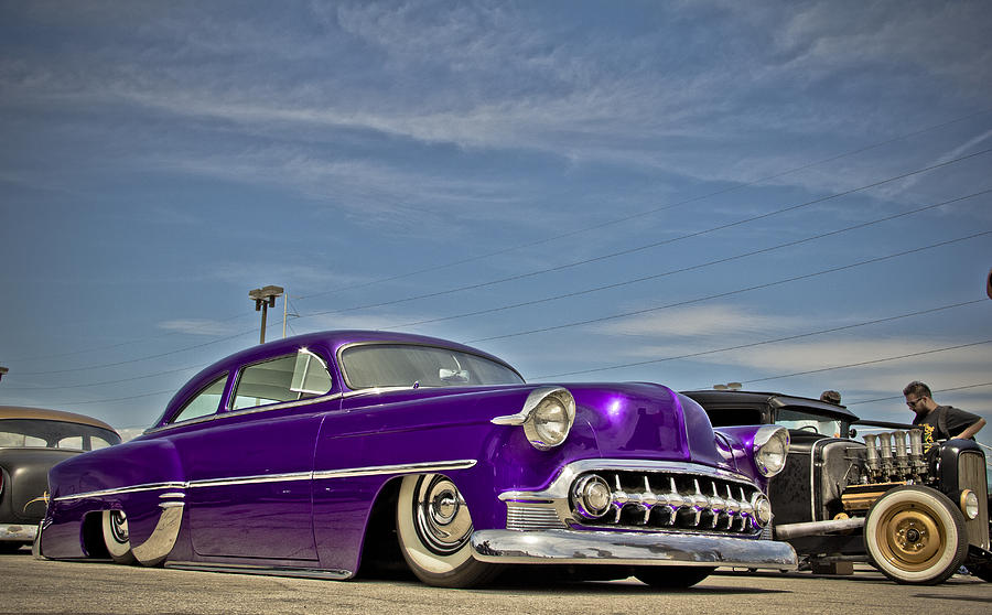 53 Chevy Photograph - Cruisin 53 by Merrick Imagery