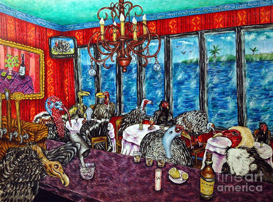 Turkey Painting - Cruisin by Jay  Schmetz