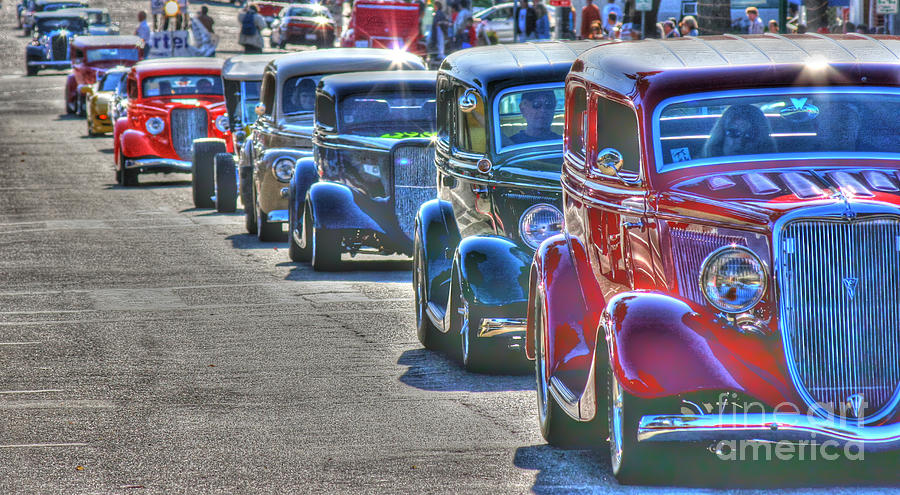 Cars Photograph - Cruisin  by Tap On Photo