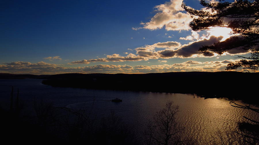 Connecticut Photograph - Cruising Into The Sunset by Stephen Melcher