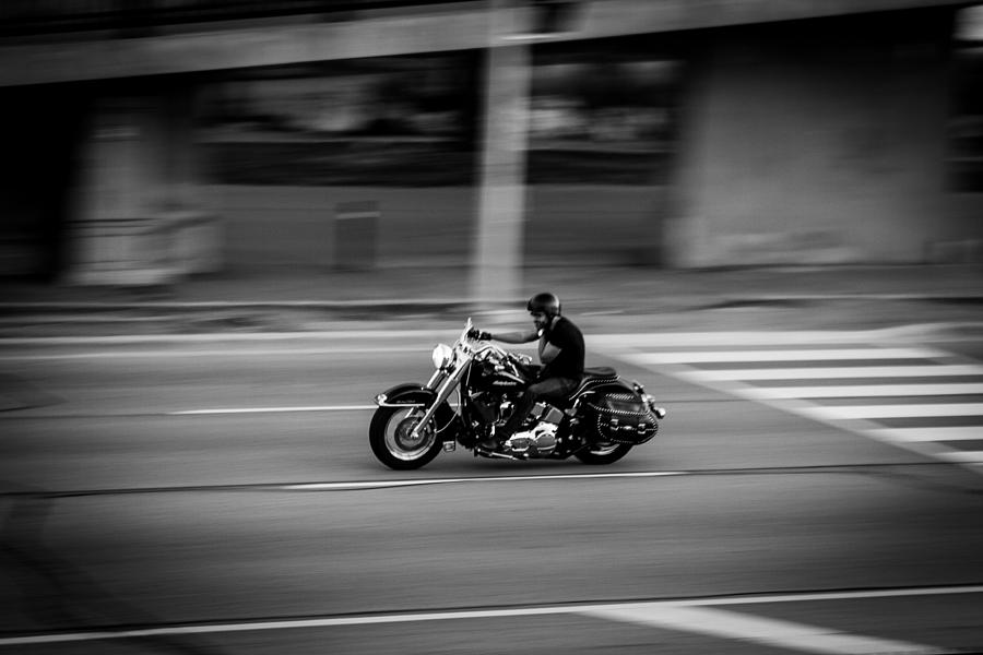 Motorcycle Photograph - Cruising  by Milan Kalkan