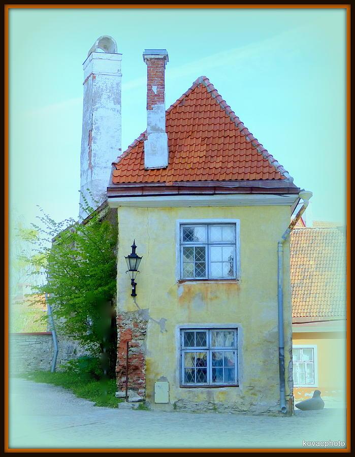 Estonia Photograph - Crumbling Corner by David Kovac