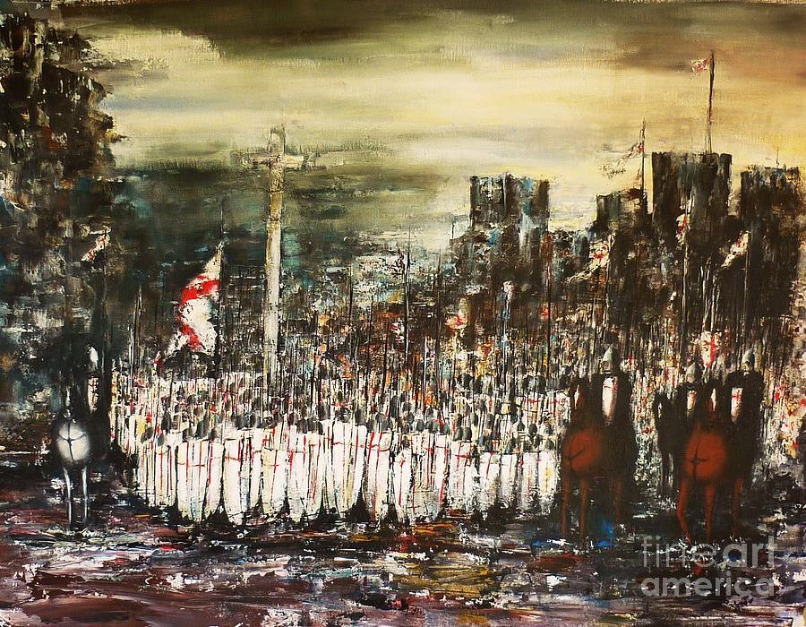 Crusade Painting - Crusade by Kaye Miller-Dewing