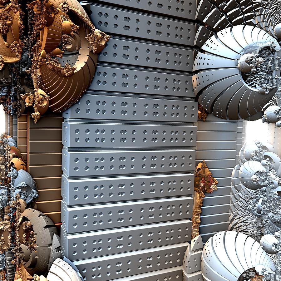 3d Fractal Digital Art - Crustaceans by Ricky Jarnagin