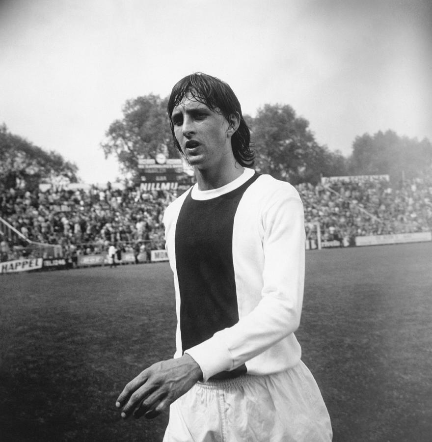 Cruyff With Ajax Photograph by Evening Standard