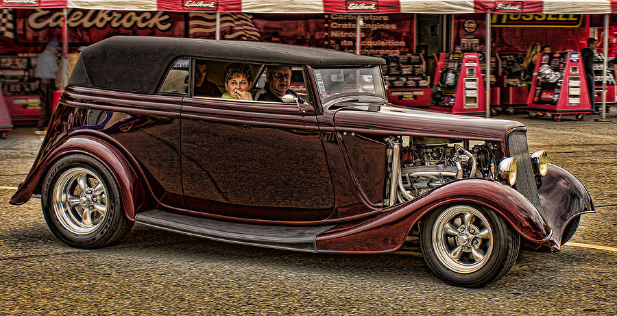 Hot Rods Posters Photograph - Cruzn by Ron Roberts