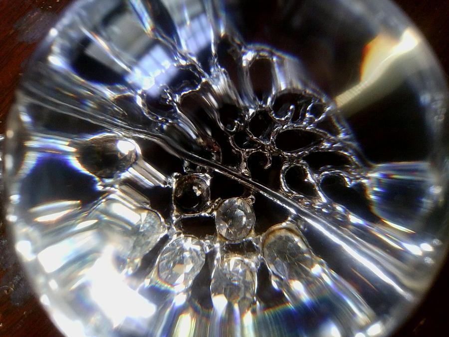 Macro Photograph - Crystal Ball by Jaime Neo