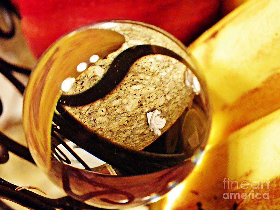 Crystal Ball Project 113 Photograph - Crystal Ball Project 113 by Sarah Loft