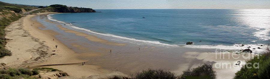Crystal Cove Painting - Crystal Cove View - 01 by Gregory Dyer