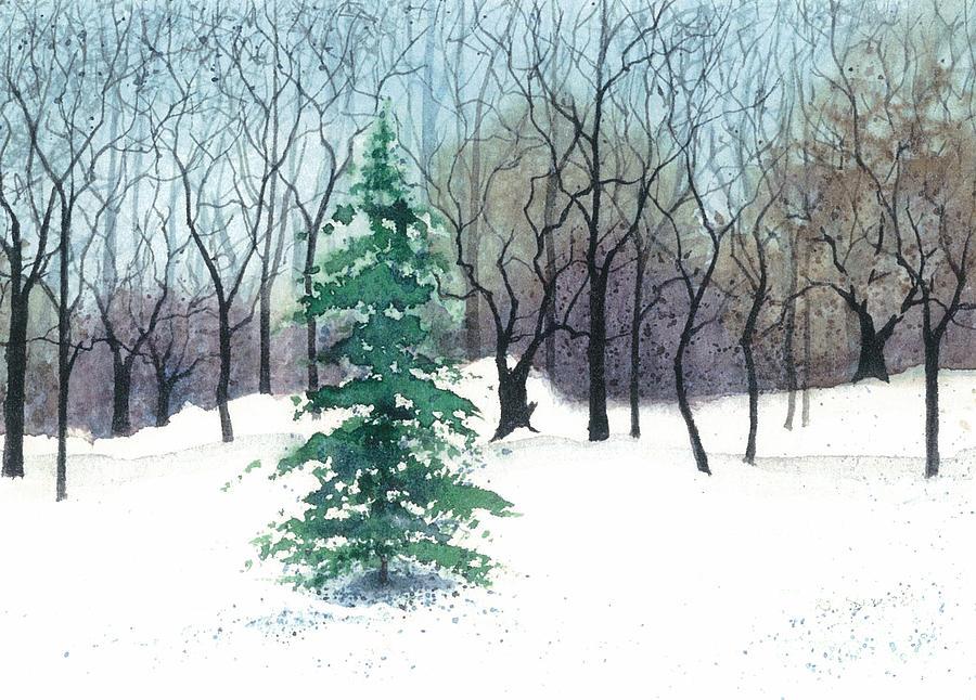 Barbara Jewell Painting - Crystal Morning by Barbara Jewell