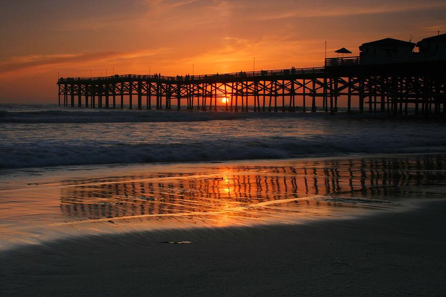 Crystal Pier Sunset Photograph By Scott Cunningham