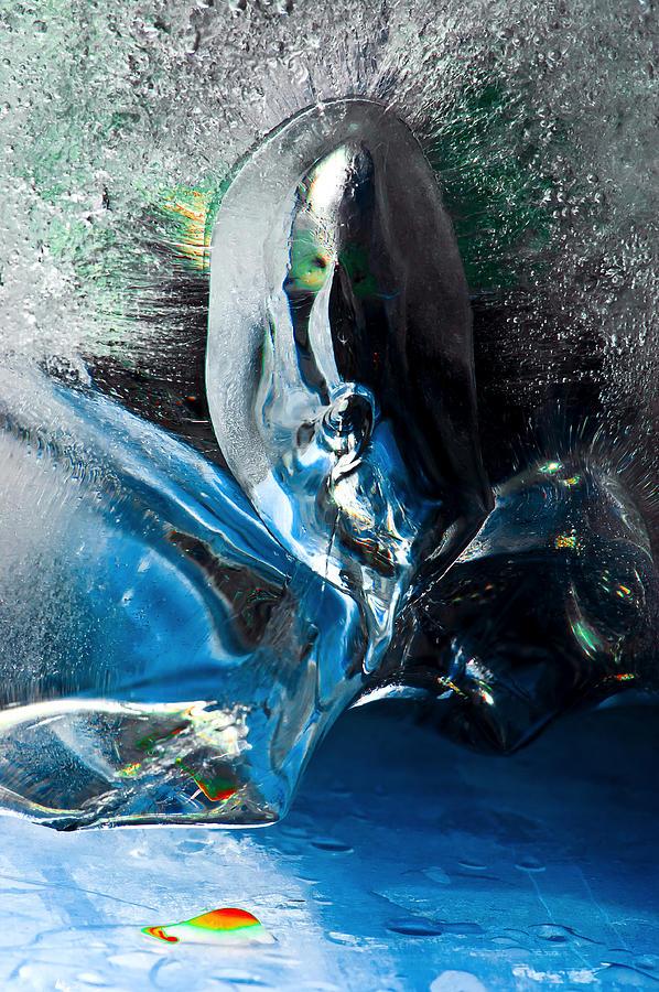 Ice Painting - Crystalline by Petros Yiannakas