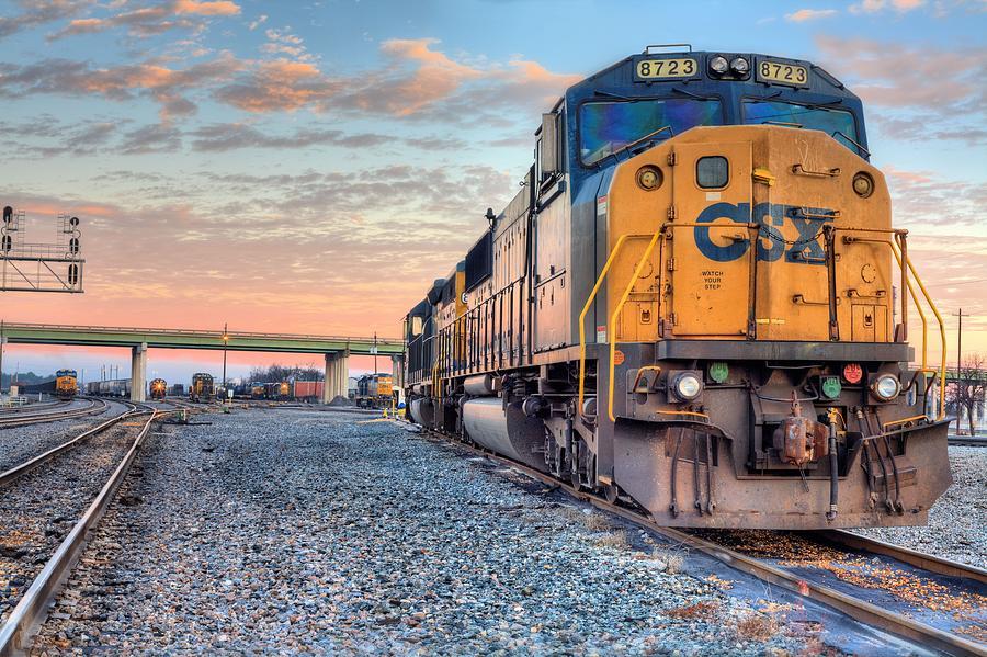 photograph csx train2650 by - photo #23