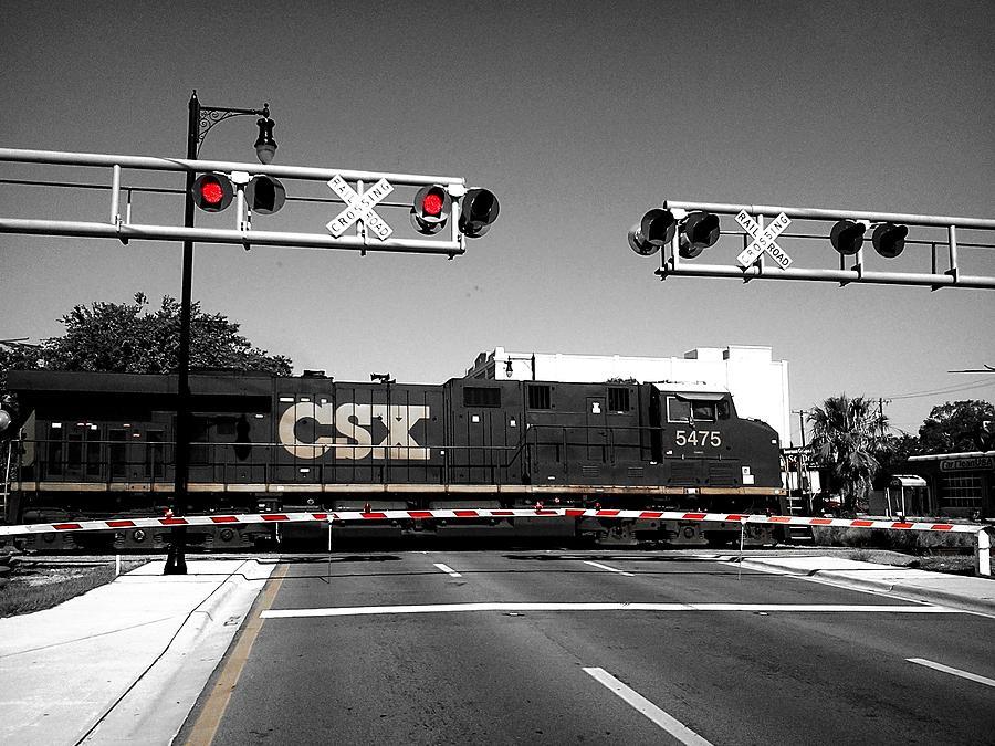 Csx Train Photograph by Bruce Kessler