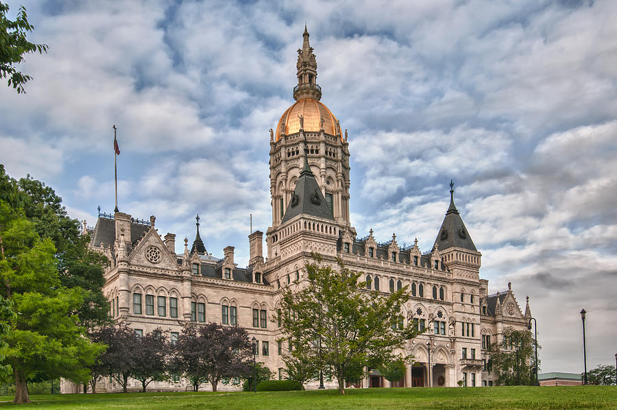 State Capitol Building Photograph Guy Whiteley