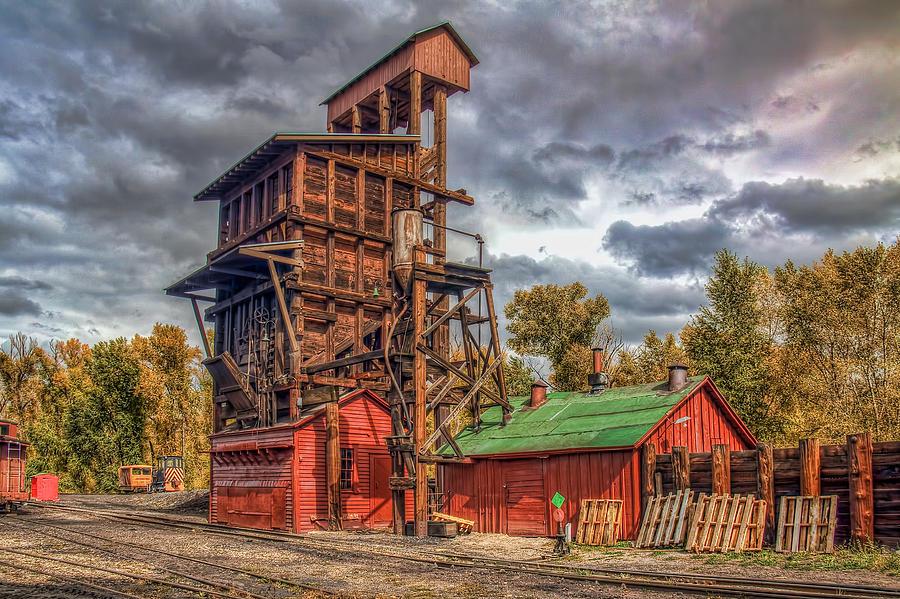Coal Tipple Photograph - Coal Tipple by Tom Weisbrook