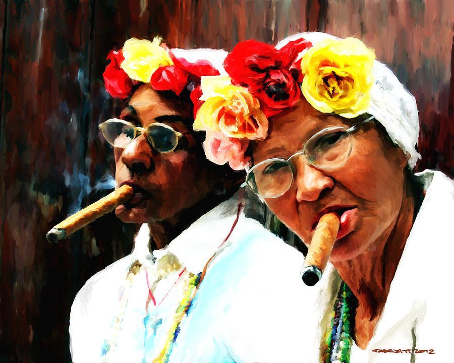 Caribbean Digital Art - Cuba - Caribbean Serie by Gabriel T Toro