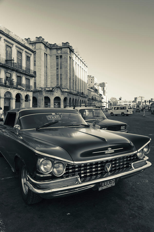 American Photograph - Cuba, Havana, Havana Vieja, Detail by Walter Bibikow