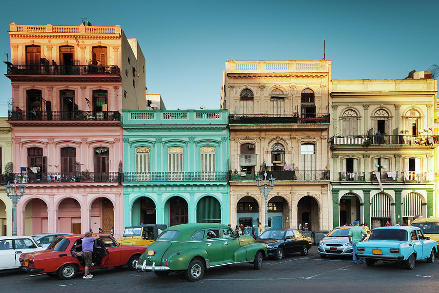 Cuba, Havana, Havana Vieja, Outside T Photograph by Walter Bibikow
