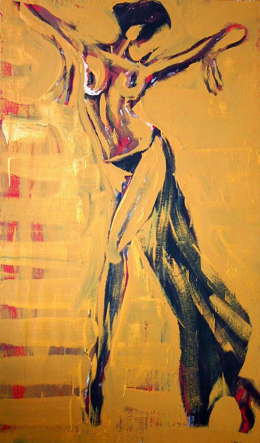 Cuba Rhythm Painting by Jarmo Korhonen aka Jarko