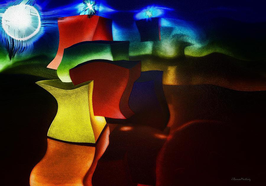 Cubes fantasy by Ramon Martinez